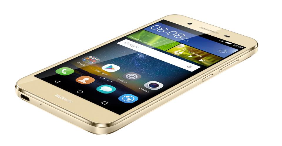 Huawei GR3 toestel plat goud