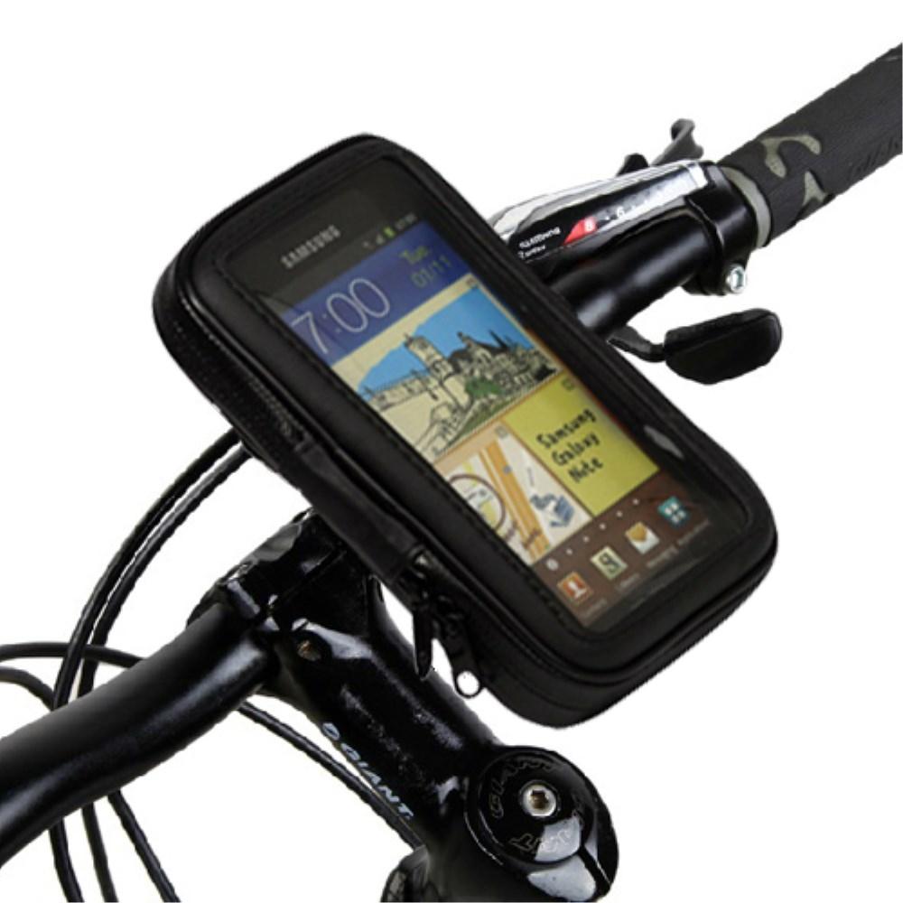 HTC Desire 830 houder op een fiets