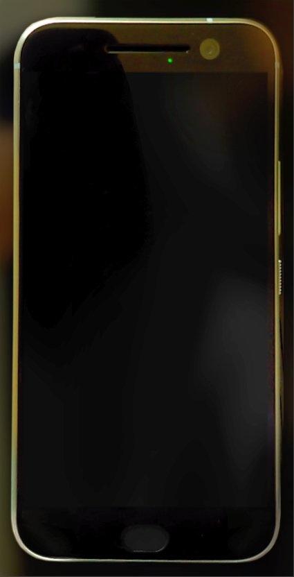 HTC 10 toestel donker beeldscherm