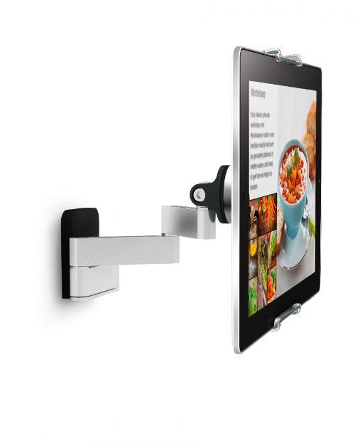 Huawei MediaPad M2 7.0 muurhouder gezien vanaf de zijkant
