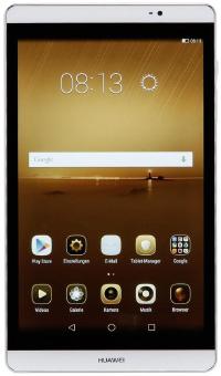 Huawei MediaPad M2 7.0 toestel rechtopstaand met een witte achtergrond