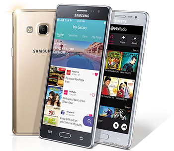 Samsung Galaxy Z3 houders