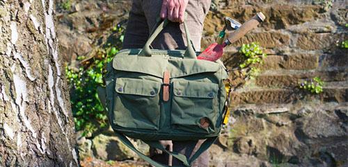 fjallraven greenland briefcase groen