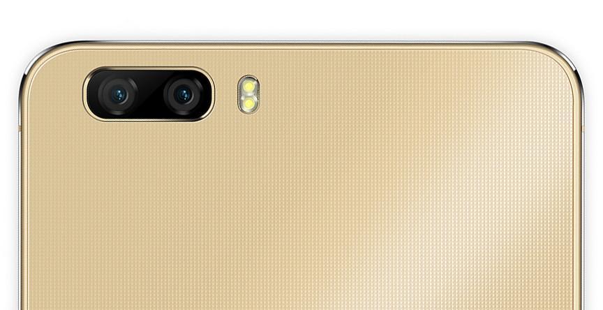 Huawei P9 Lite gele telefoon