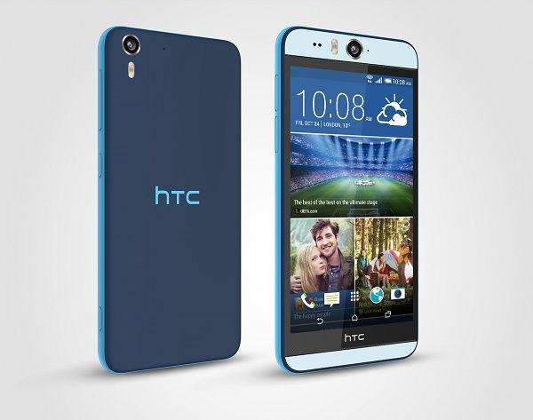 HTC Desire 830 toestel blauw