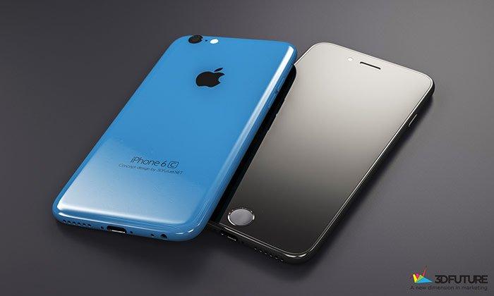 iPhone SE toestel blauw en grijs