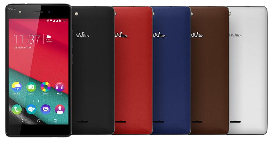 Wiko Pulp Fab 4G hoesjes
