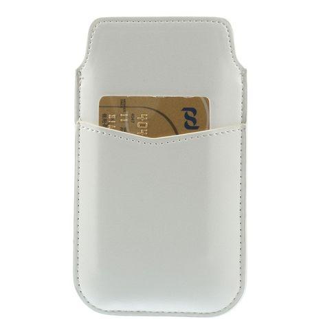 Met deze handige witte sleeve berg je je smartphone snel op, en bescherm je hem optimaal tegen krassen. de ...